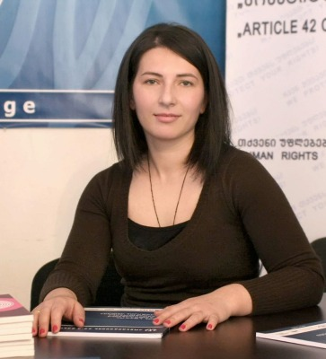 რუსუდან მჭედლიშვილი - იურისტი